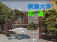 新潟大学医学部の英語の傾向と対策